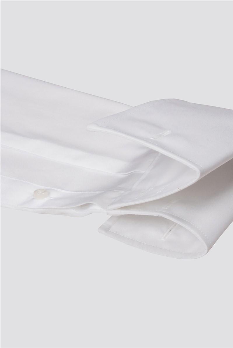 White Double Cuff Cutaway Shirt