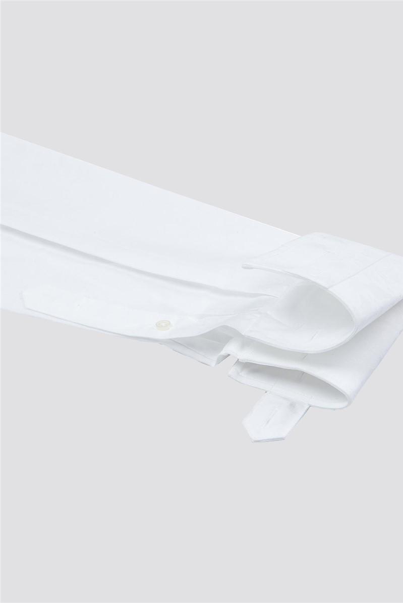 Stvdio White Jacquard Shirt