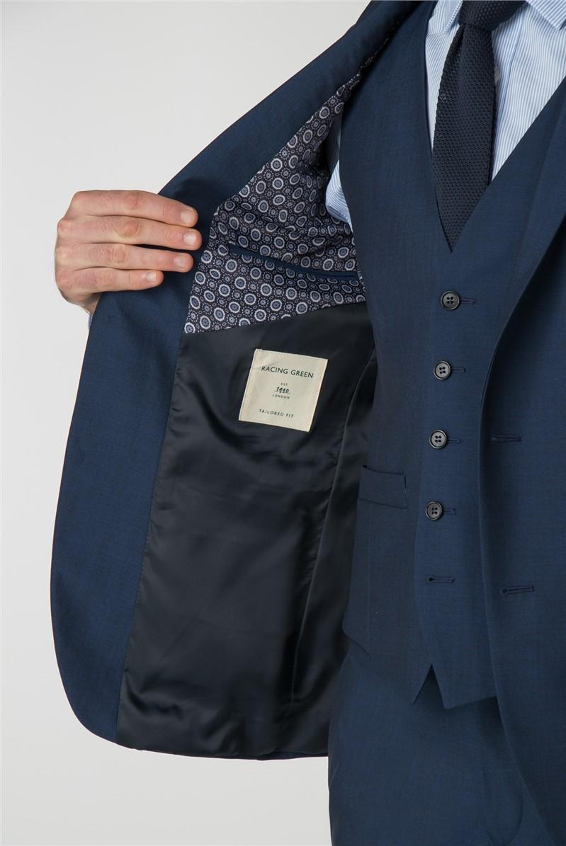 Bright Blue Panama Suit