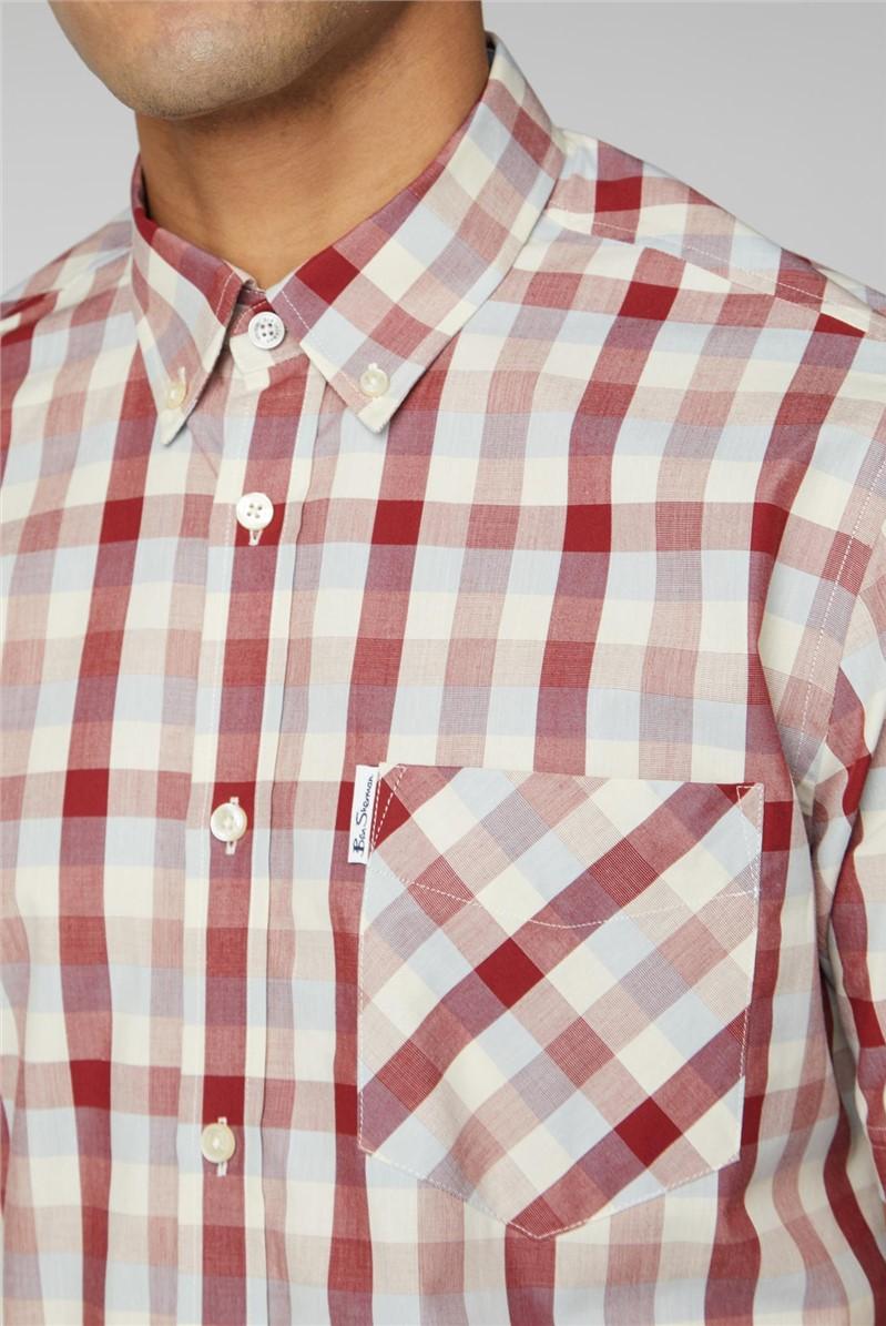 End On End Check Shirt