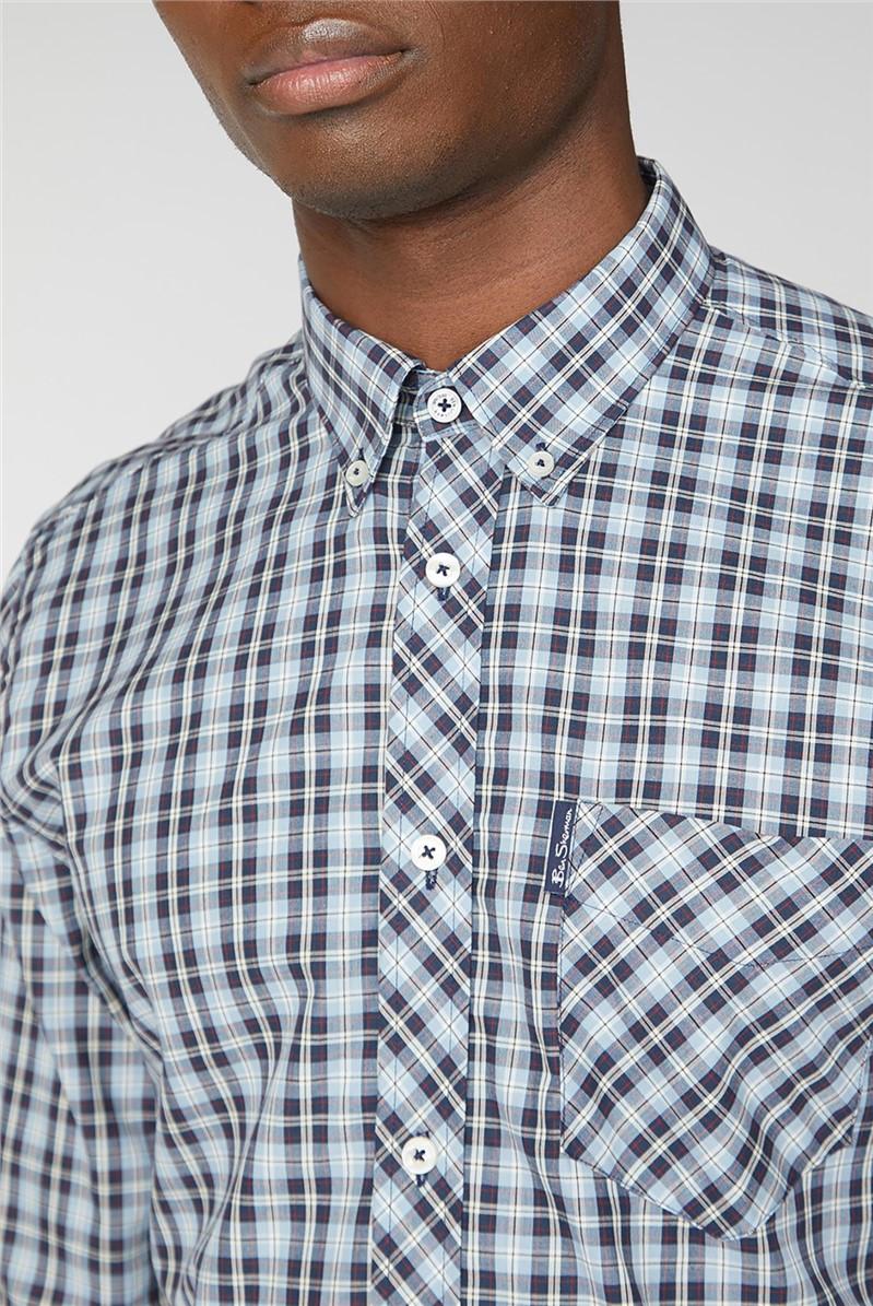 Classic Blue Check Shirt