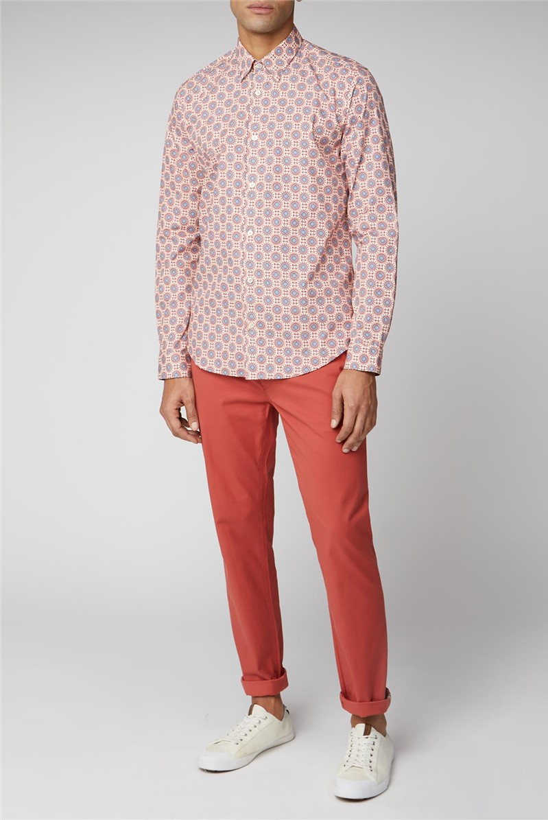 Floral Digi Print Shirt