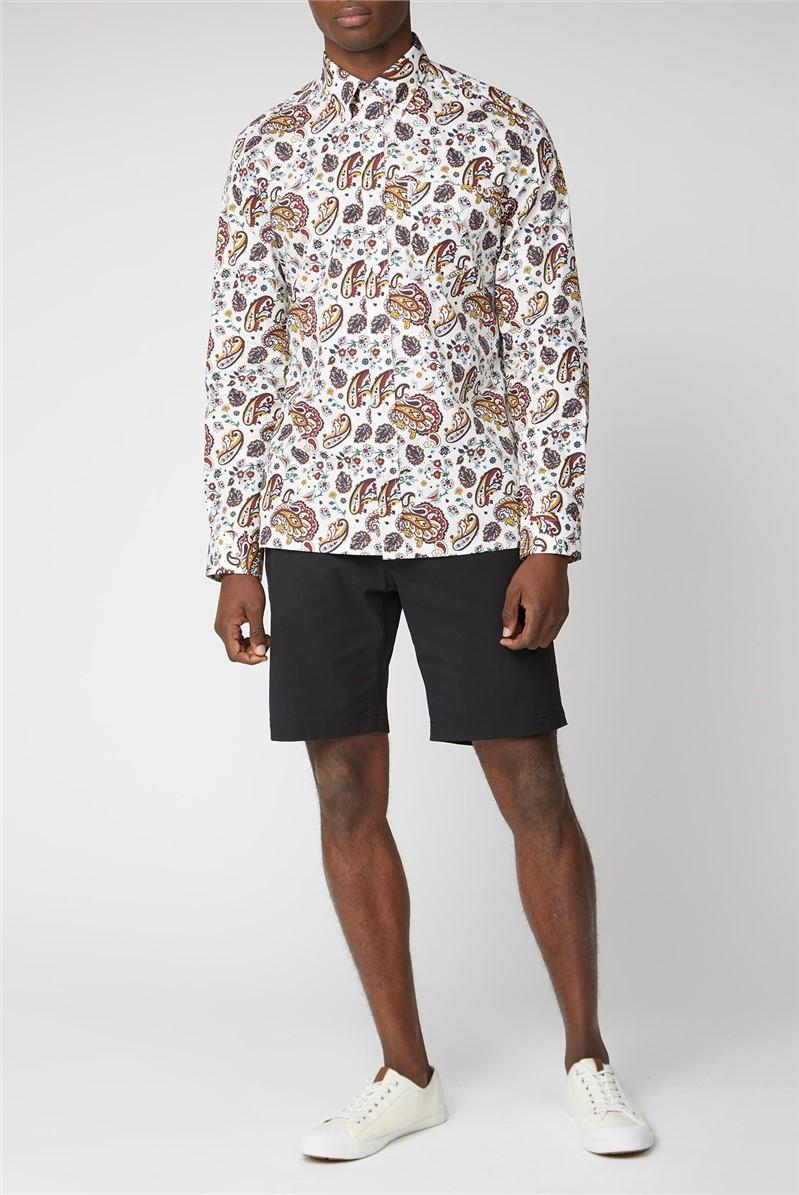 Multicolour Paisley Print Shirt