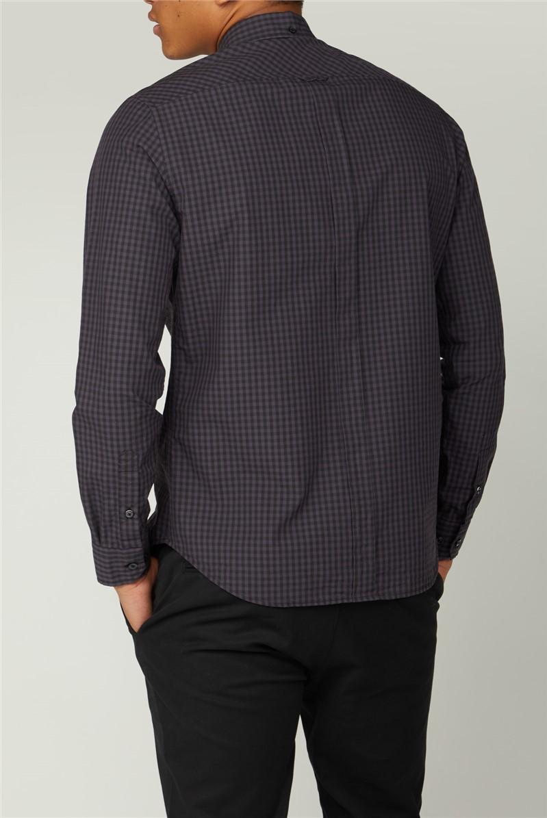 Signature Purple Gingham Shirt
