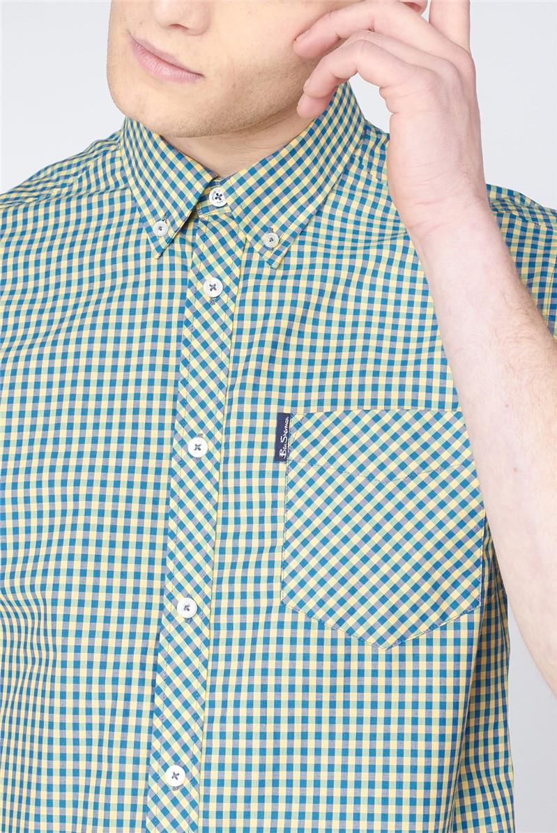 Signature Gingham Short Sleeve Shirt