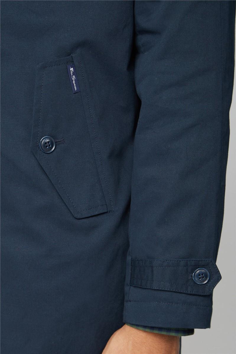 Navy Blue Button Up Mac