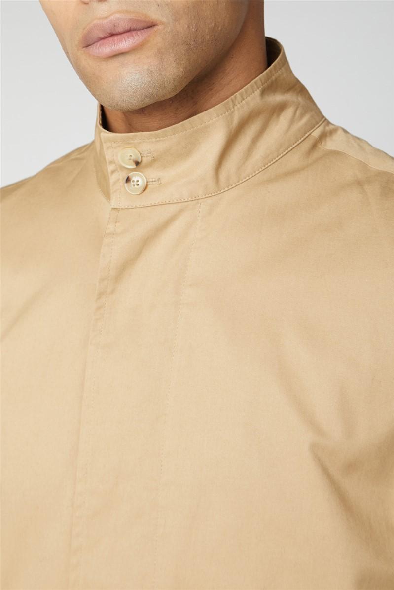Beige Button Up Mac