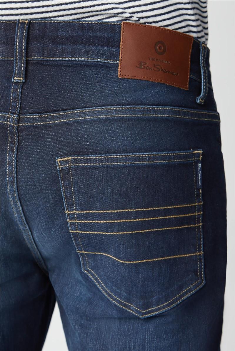 Slim Taper Vintage Wash Jean