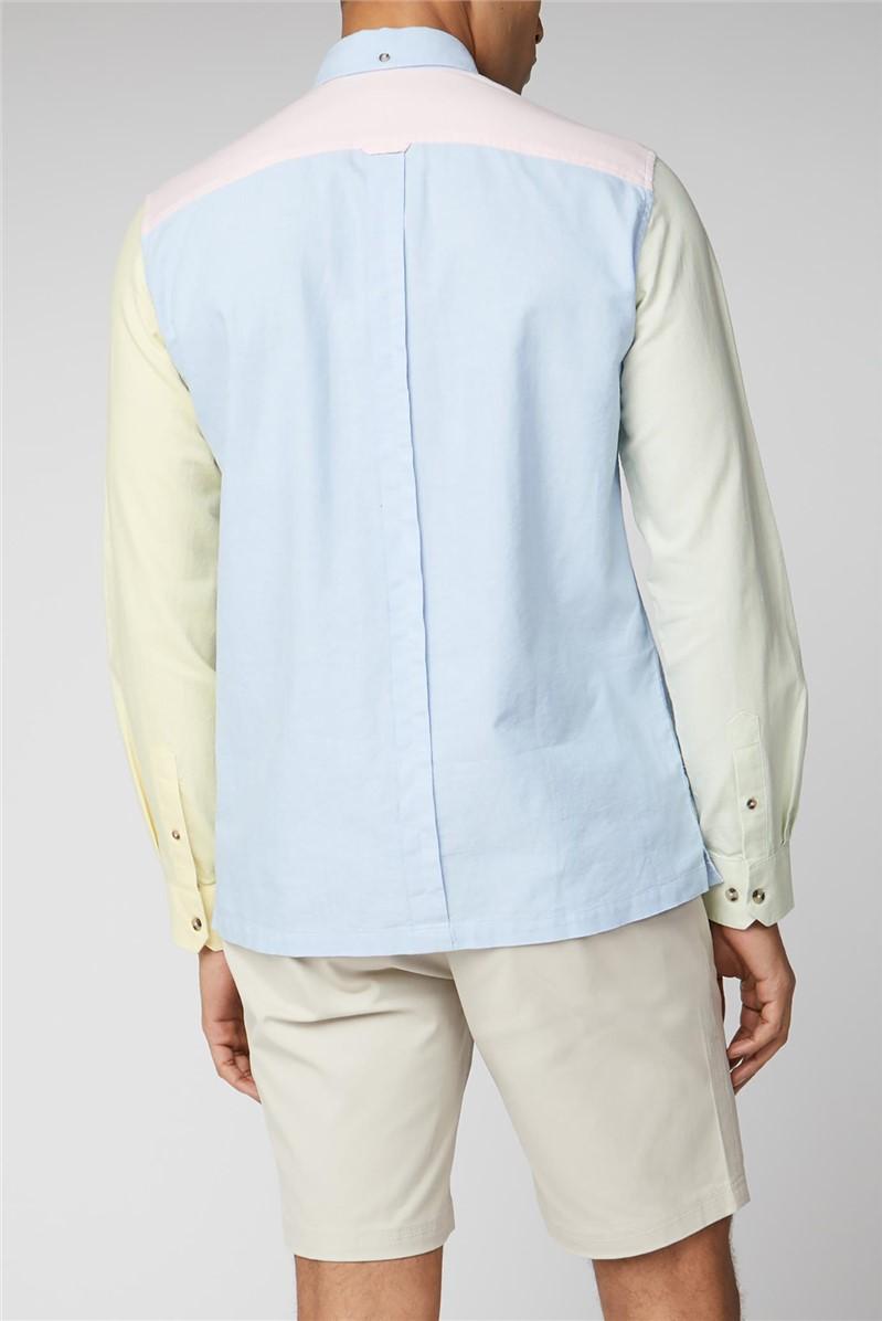 Colour Block Oxford Shirt