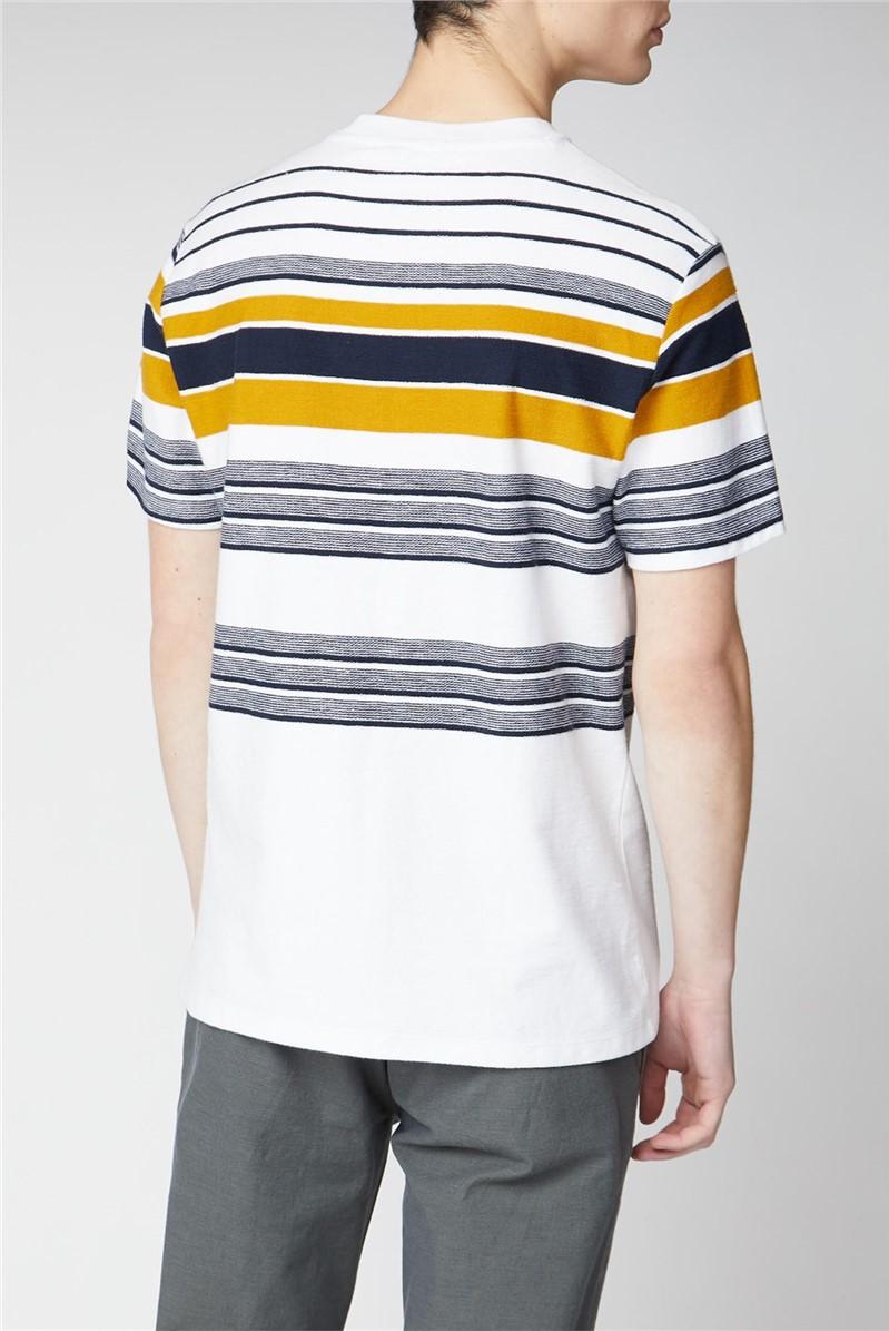 Reverse Knit Stripe Tee