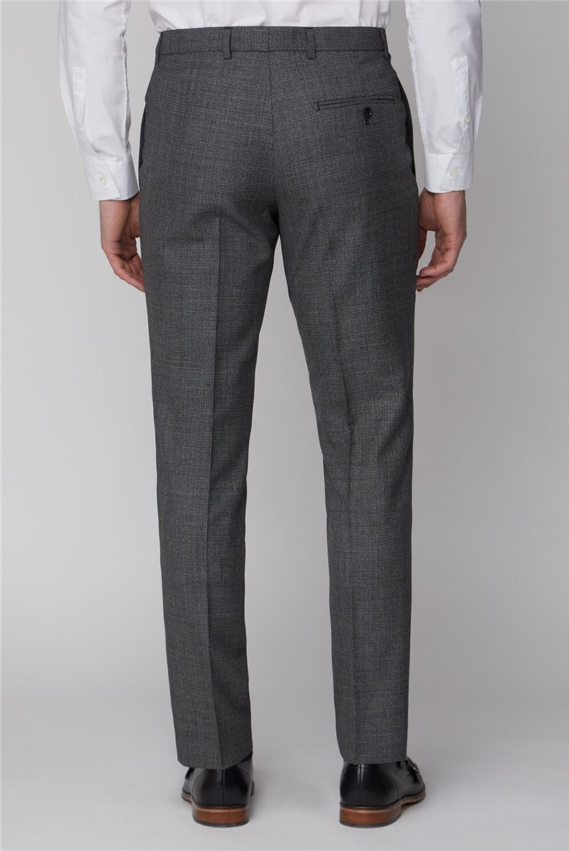 Charcoal Texture Tailored Fit Suit