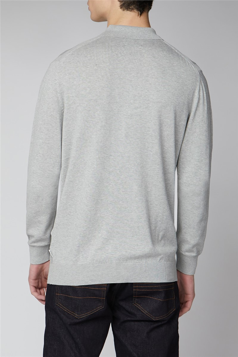 Signature Cotton Long Sleeve Polo