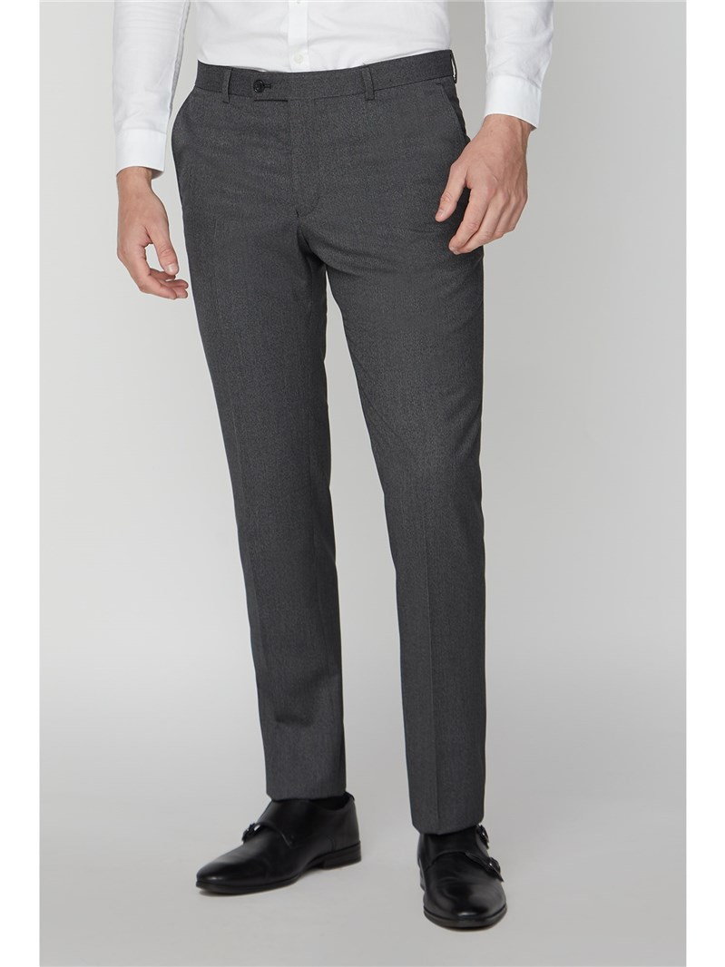 Charcoal Micro Check Slim Fit Suit