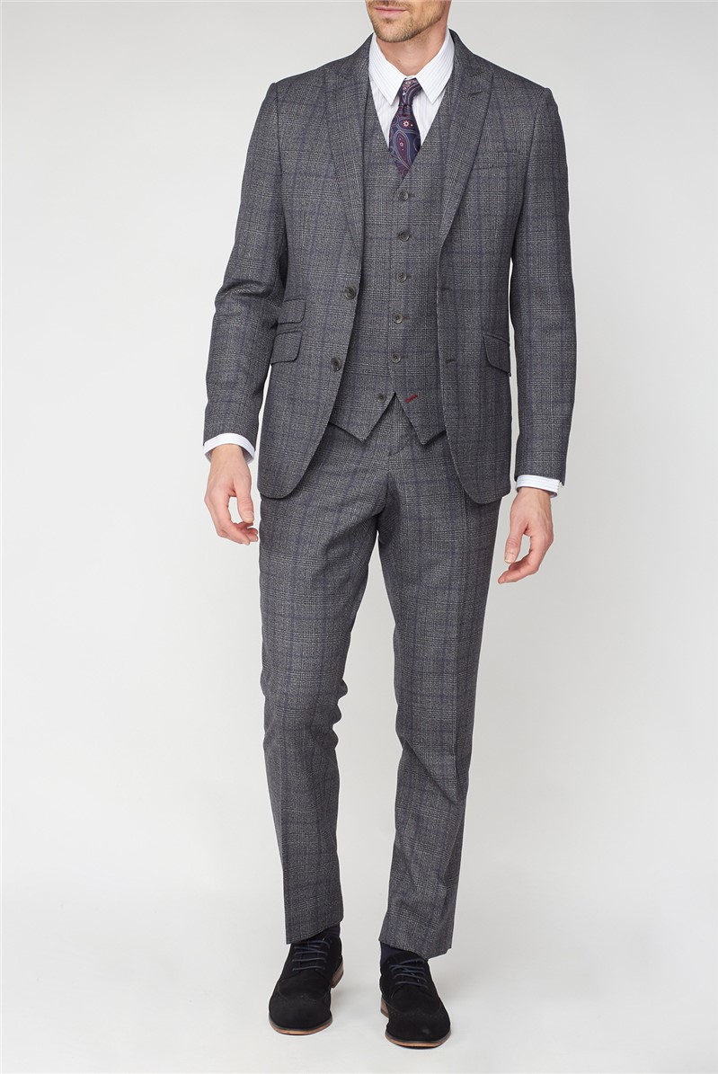 Studio Grey with Airforce Check Ivy League Waistcoat