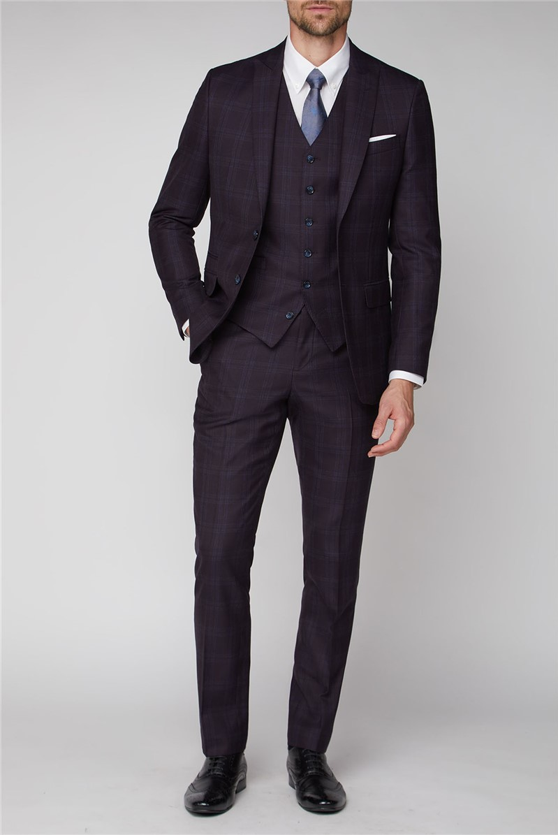 Stvdio Mulberry Check Ivy League Suit