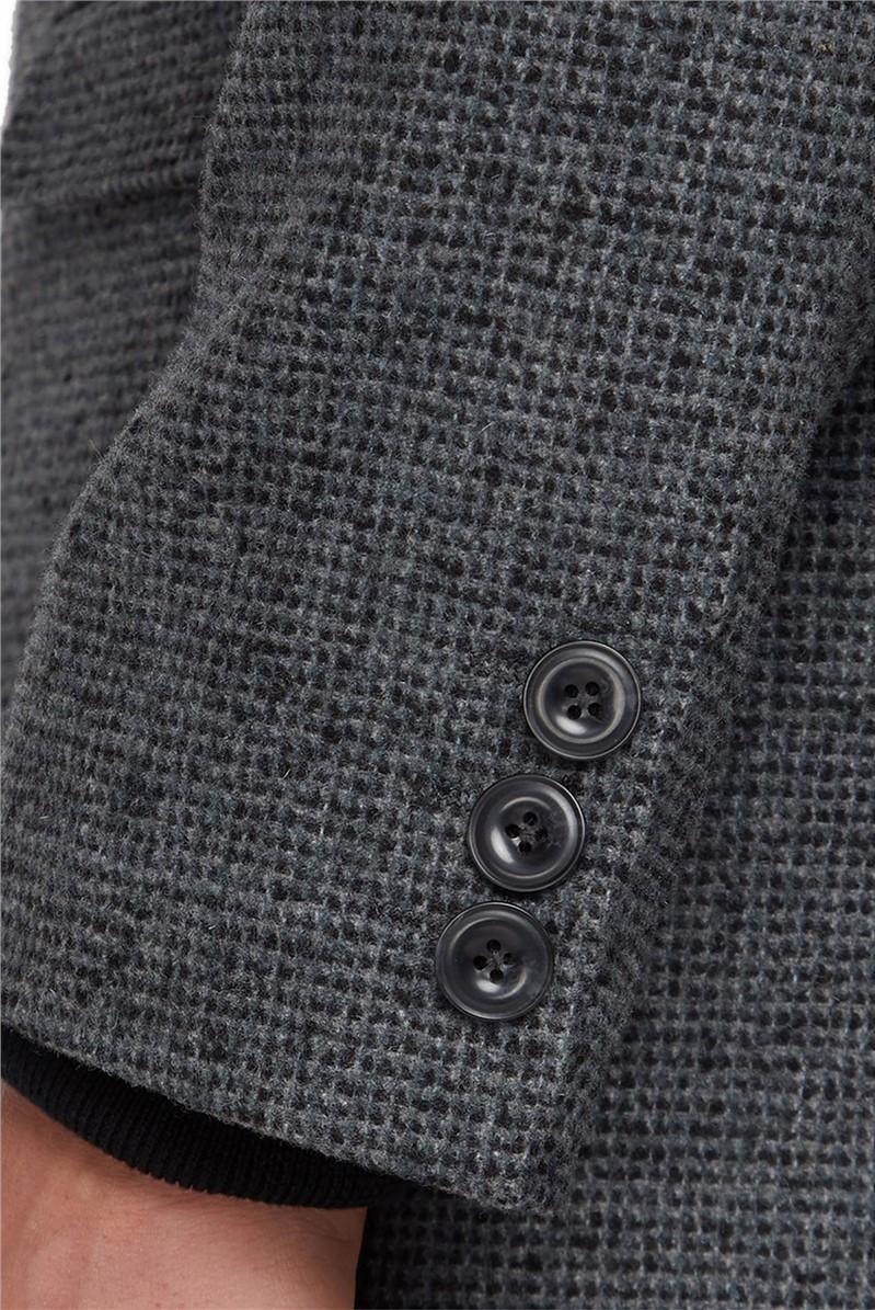 Grey Structure Overcoat