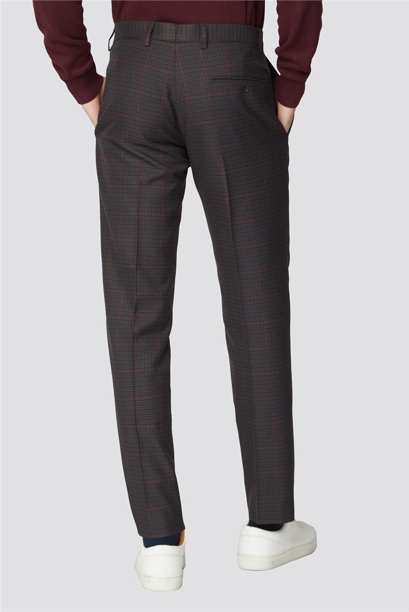 Heritage Check Slim Fit Trouser