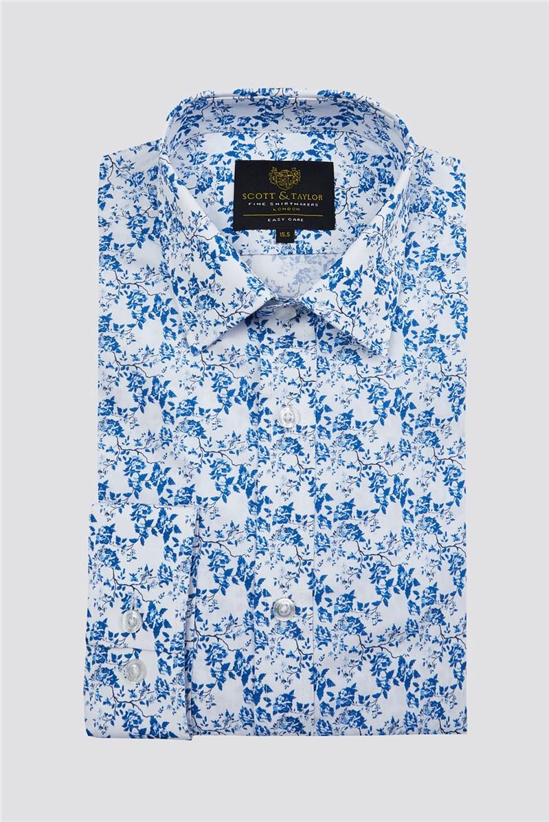 White Roses Print Shirt