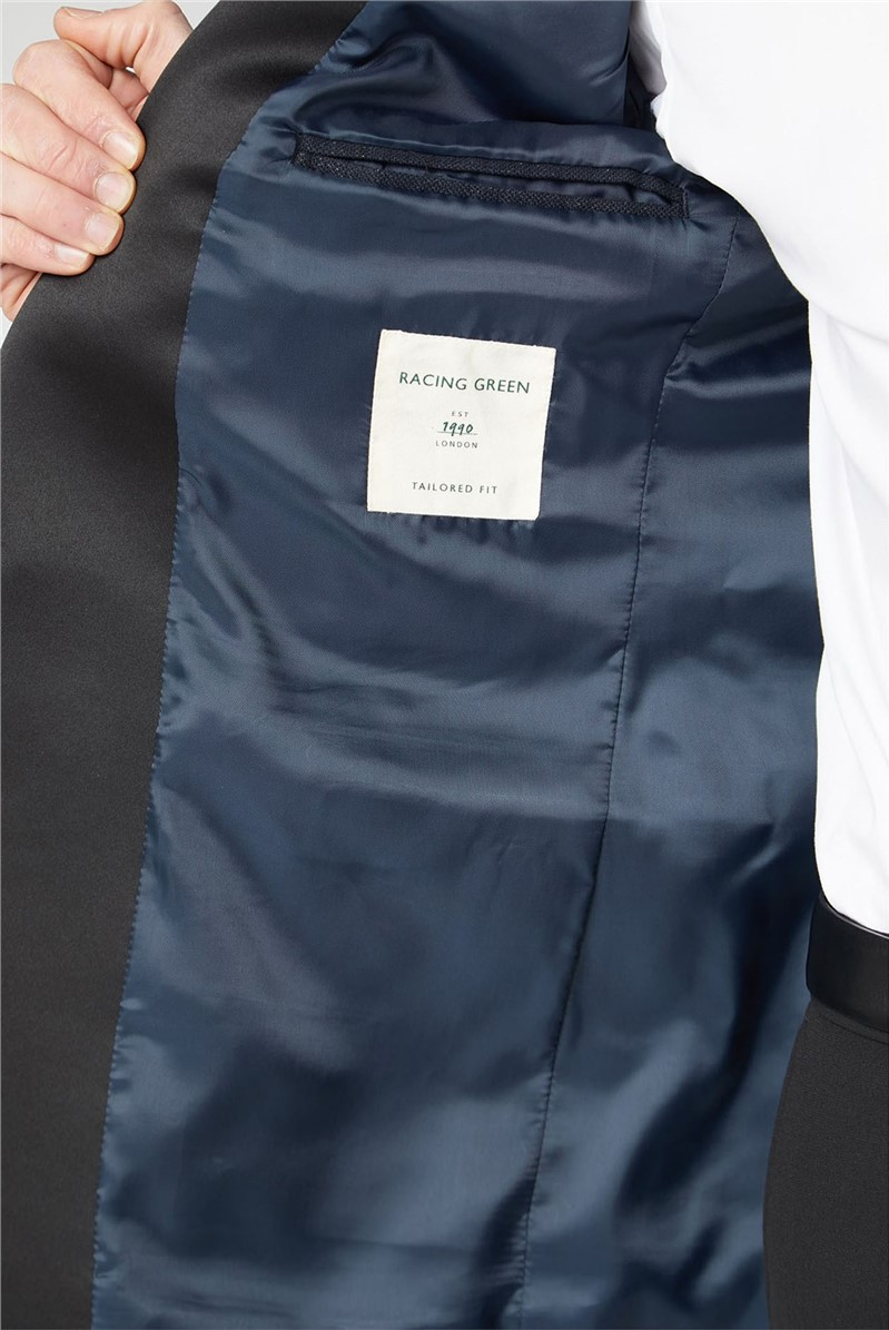 Navy Lurex Dresswear Jacket