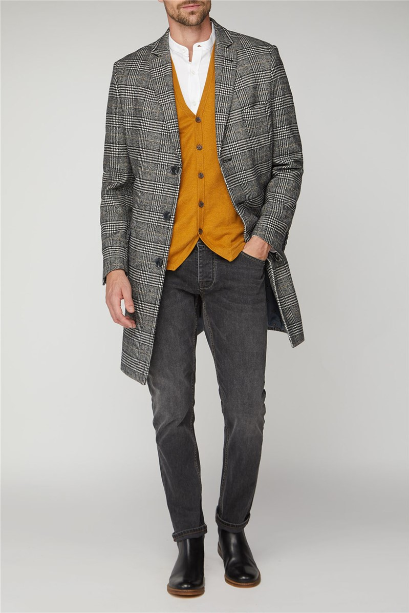 Prince of Wales Check Overcoat