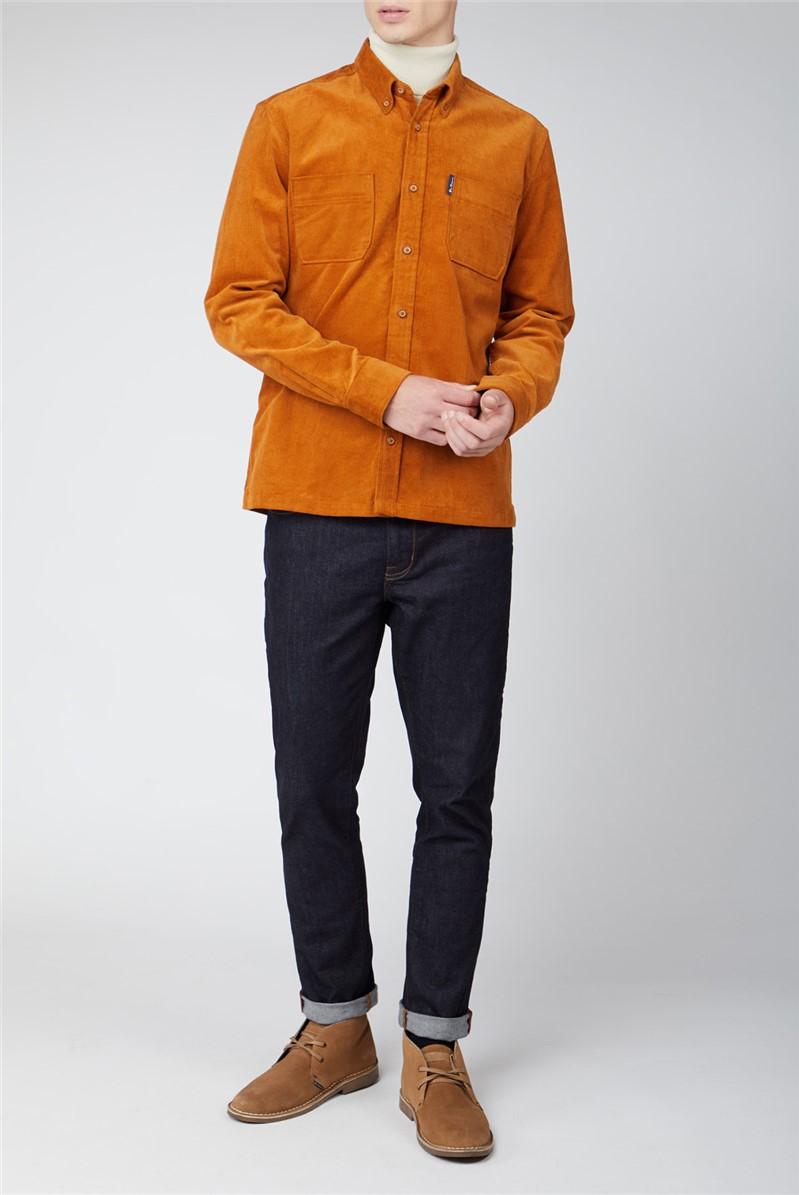 Gold Cord Utility Shirt