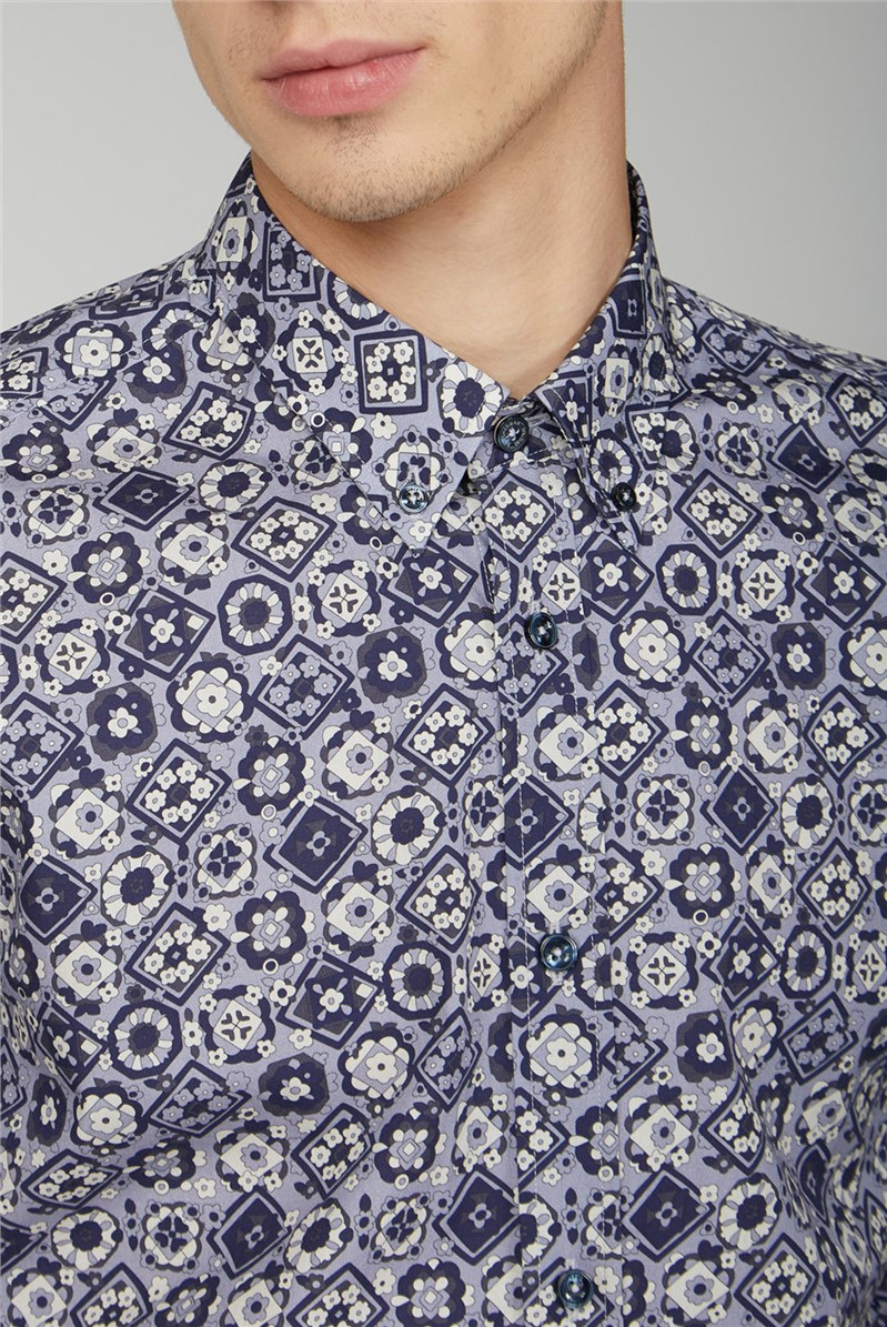 Foulard Print Shirt