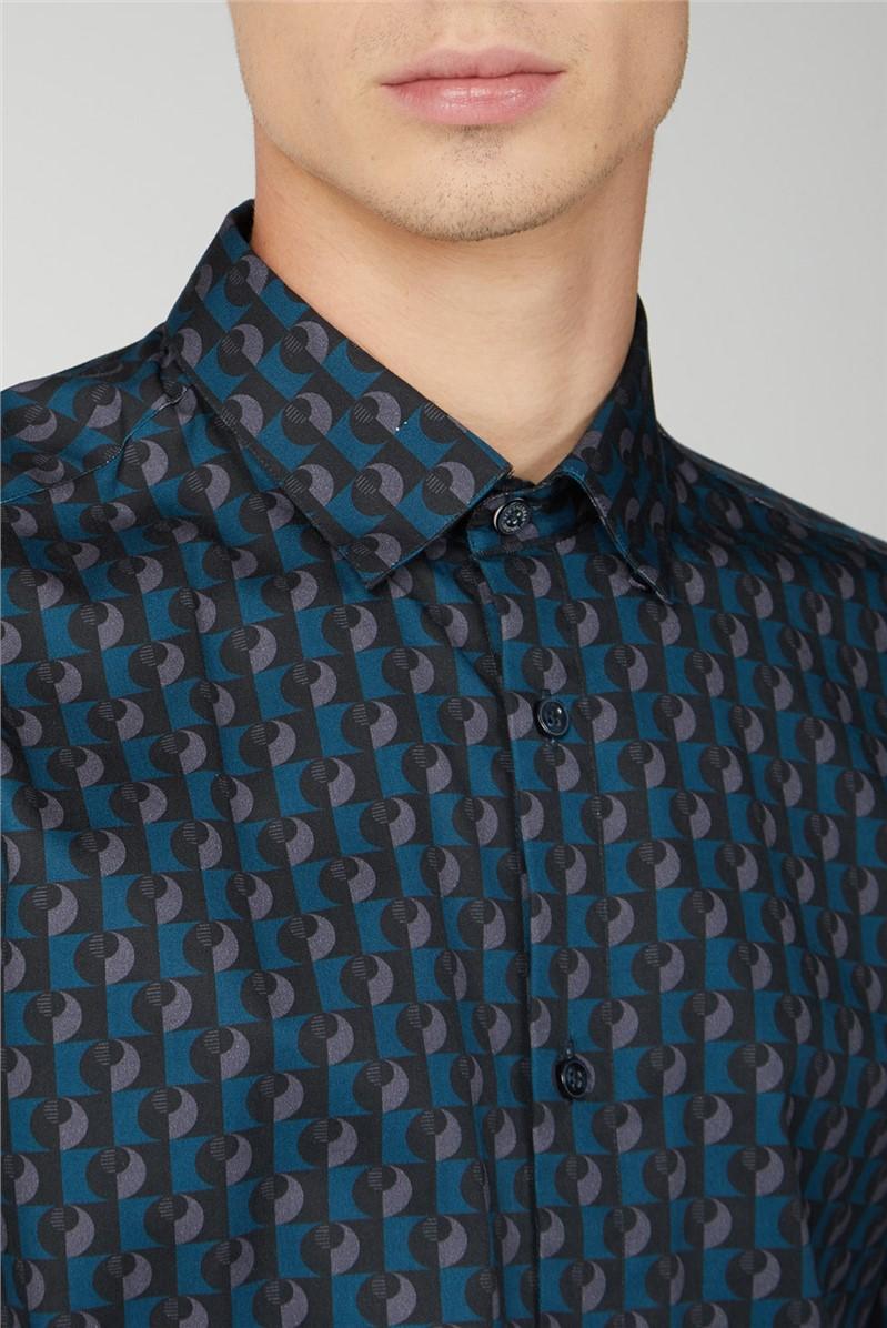 Retro Digi Print Shirt