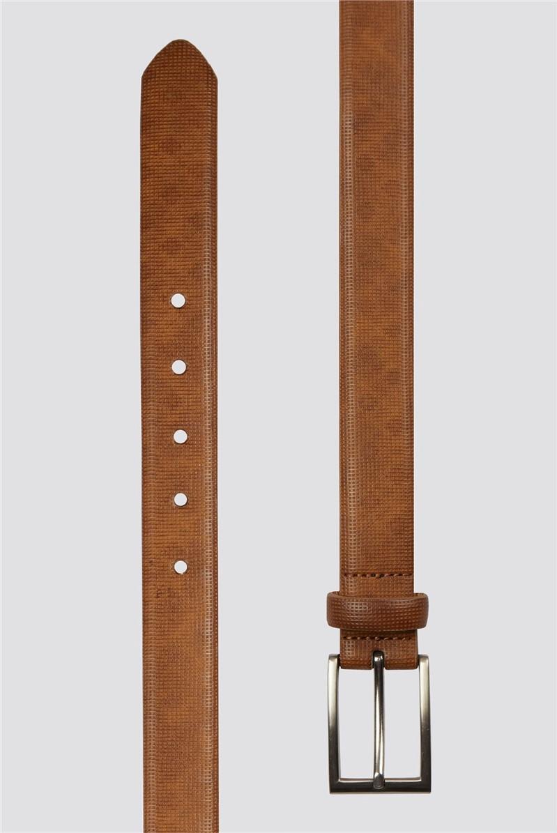 Tan Texture Belt
