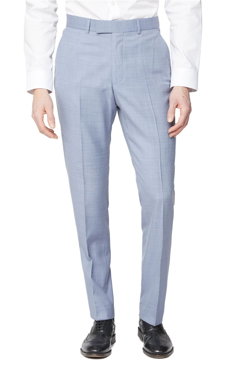 Occasions Pale Blue Tailored Fit Suit