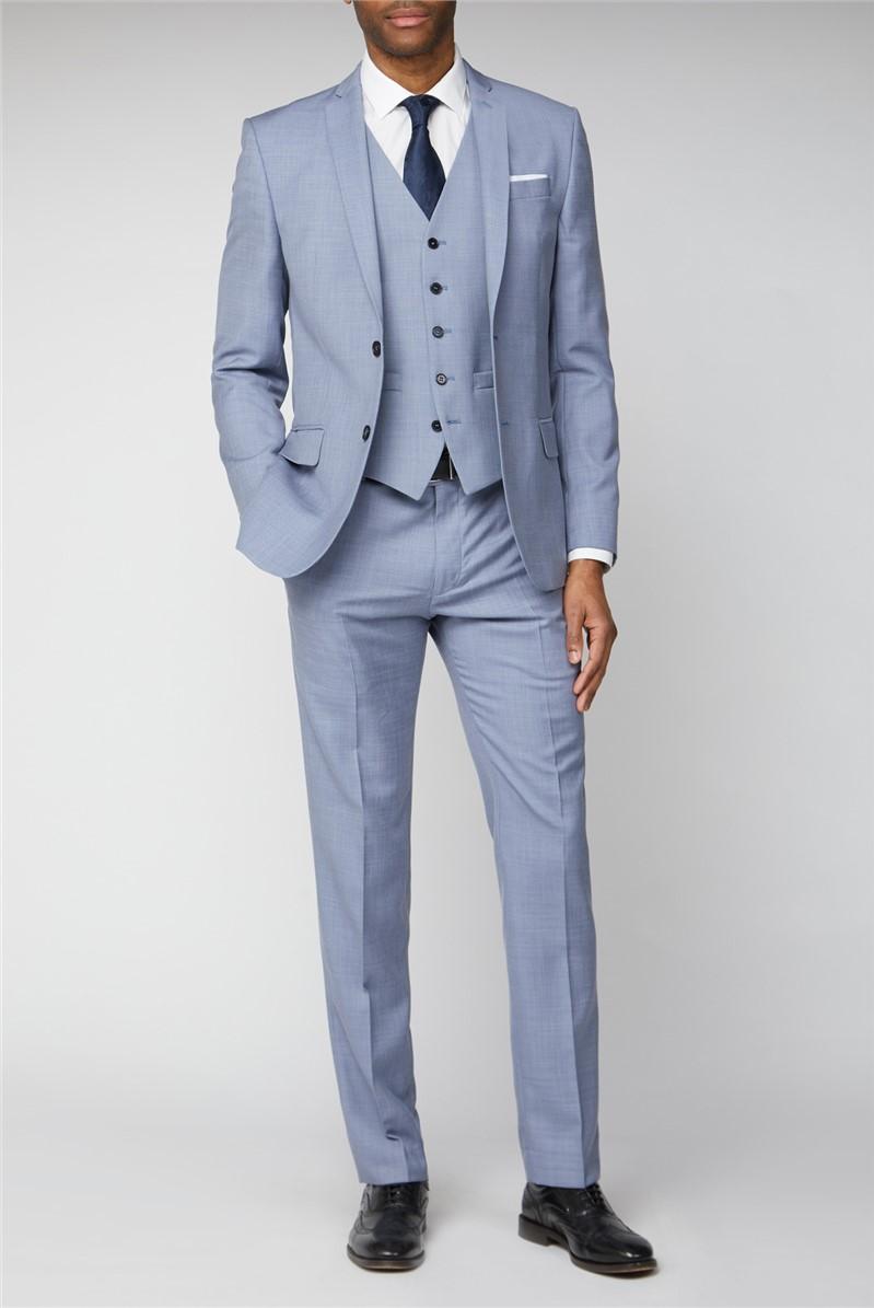 Occasions Pale Blue Slim Fit Suit