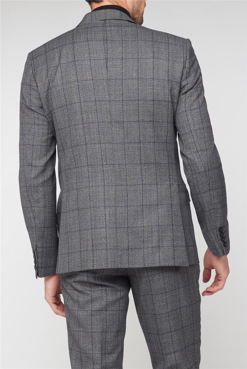 Grey with Purple Jaspe Soho Suit Trouser