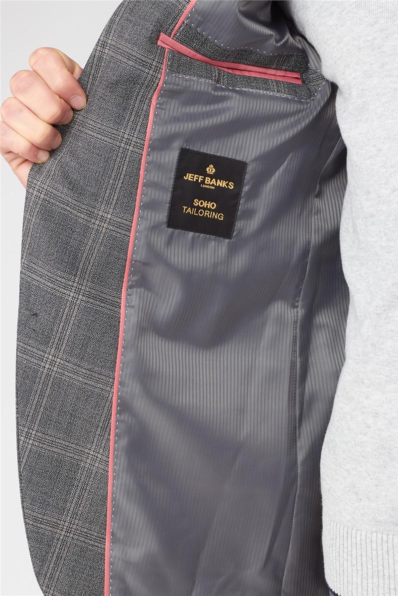 Grey Jaspe Check Soho Regular Fit Suit