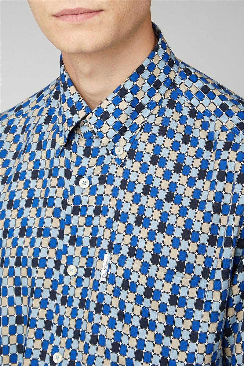 Archive 90s Viscose Print Shirt