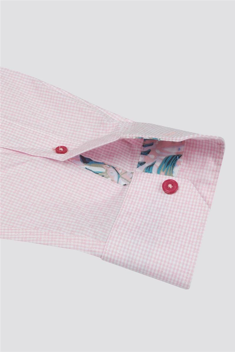 Casual White Flower Paisley Print Shirt