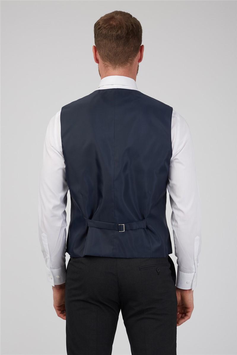 Charcoal Plain Waistcoat
