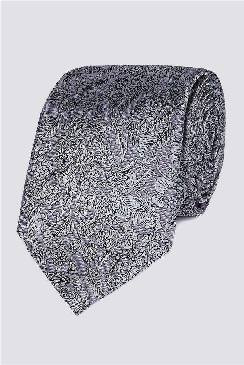 Stvdio Silver Barque Tie