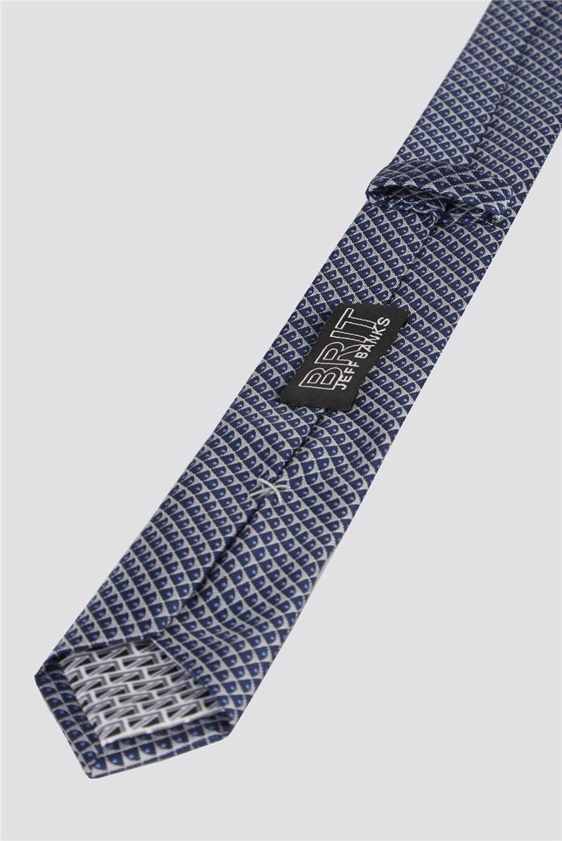 Brit Navy Micro Tie