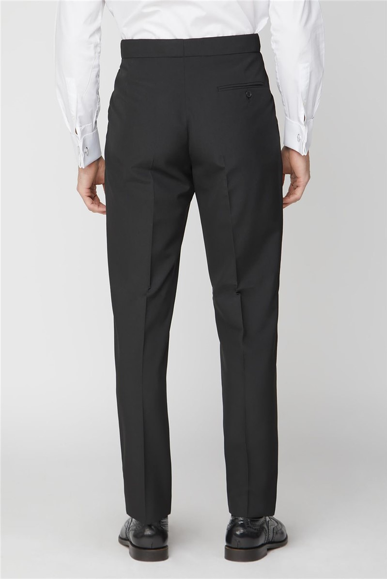 Black Satin Dresswear Suit