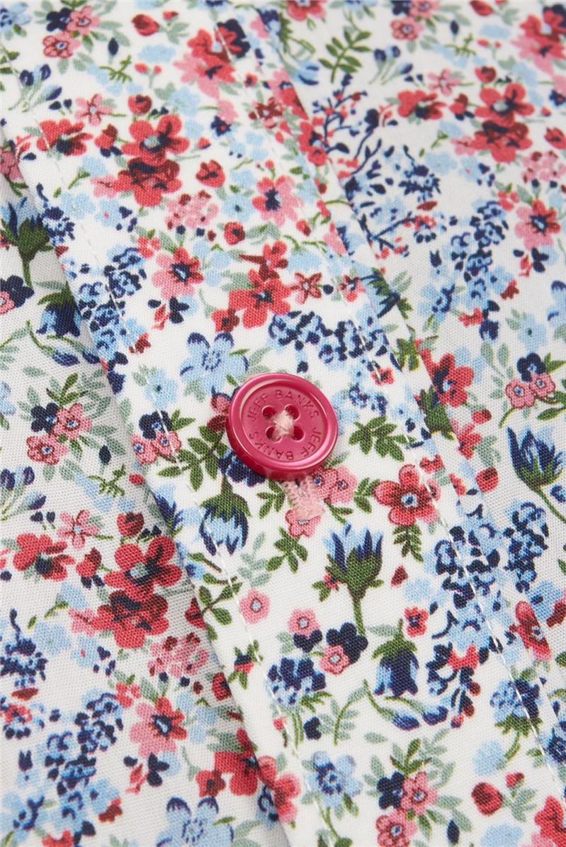 Stvdio Multi Meadow Print Shirt