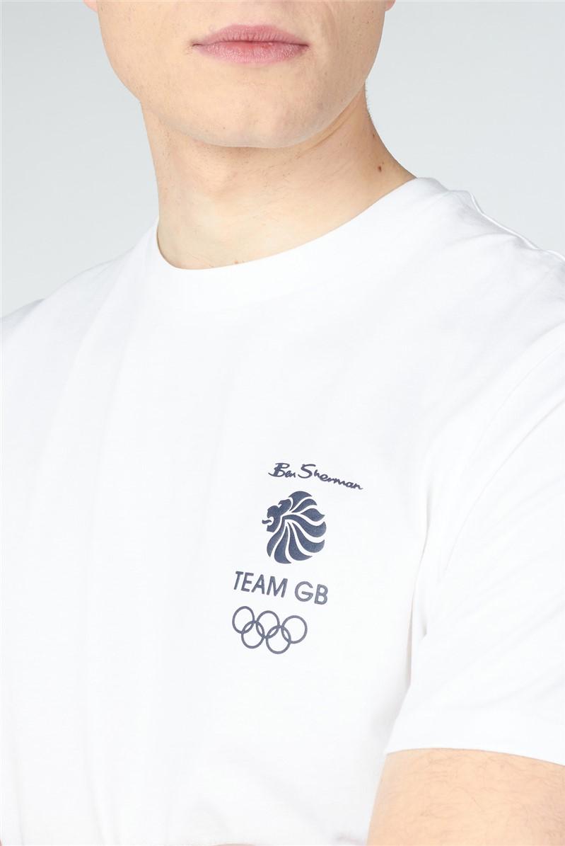 Team GB Back Print Tee