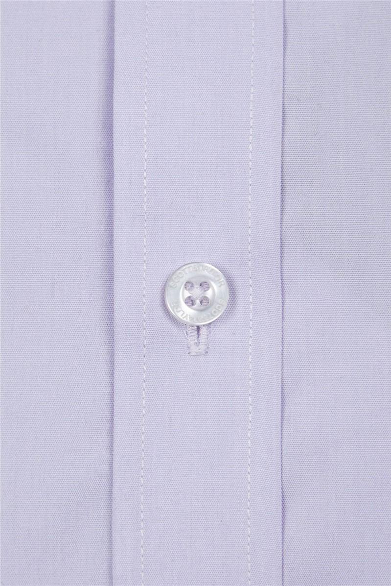 Lilac Poplin Shirt