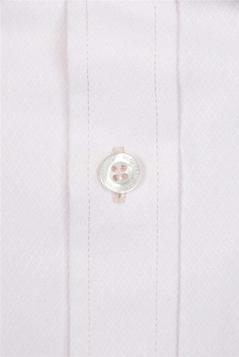 Pink Diamond Dobby Shirt