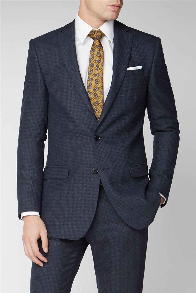 Navy Rust Slim Fit Suit