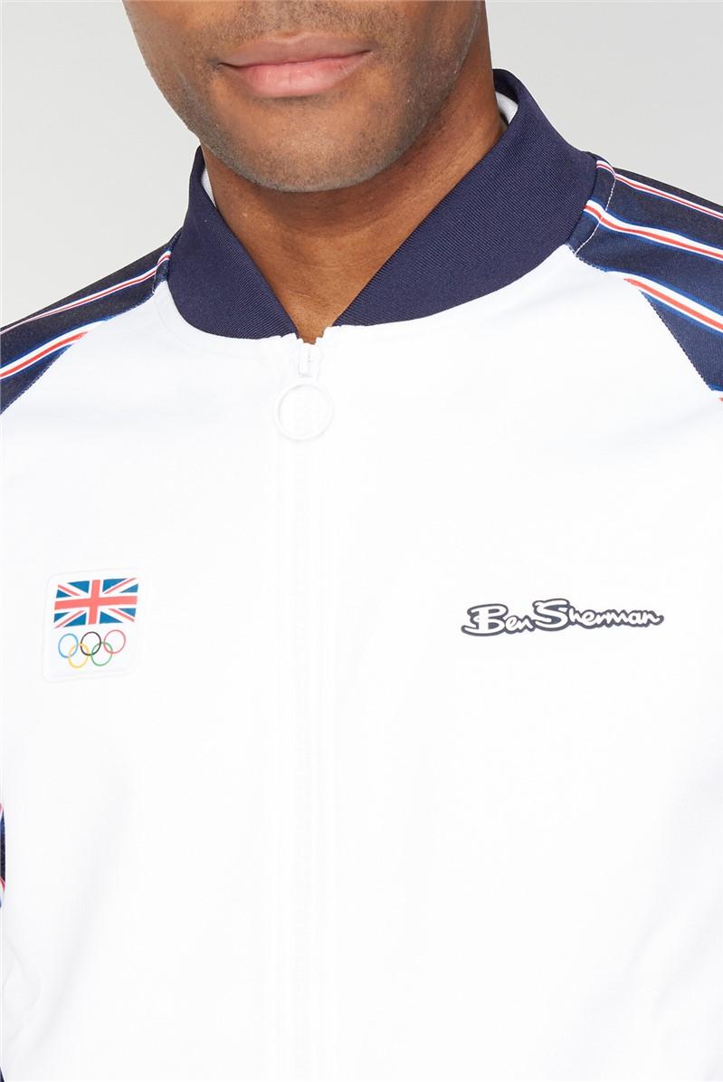 Team GB Union Stripe Tricot Bomber