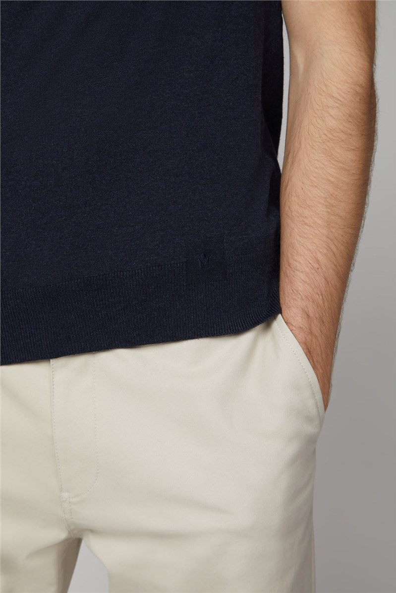 Anders Short Sleeve Knitted Tee