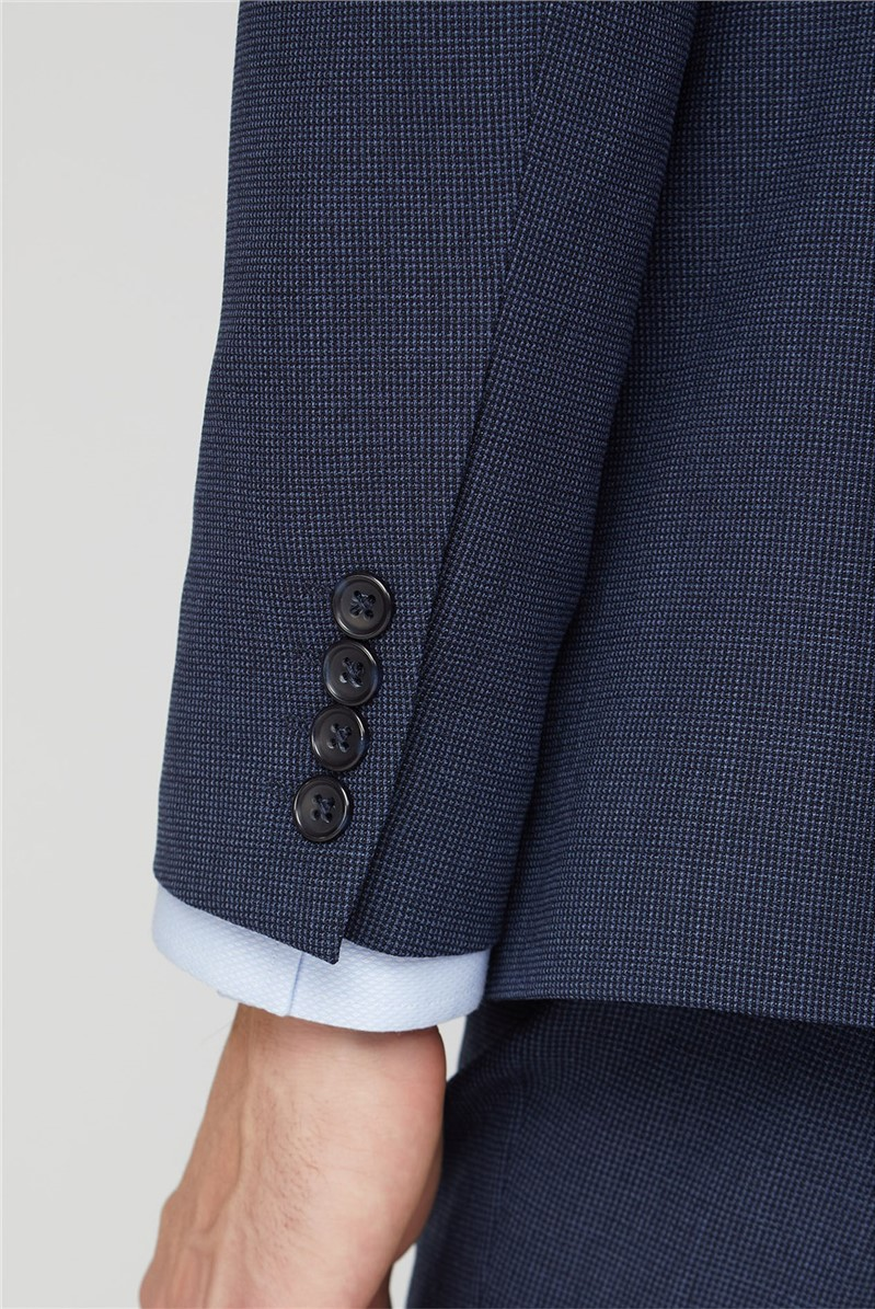 Navy Airforce Texture Travel Suit