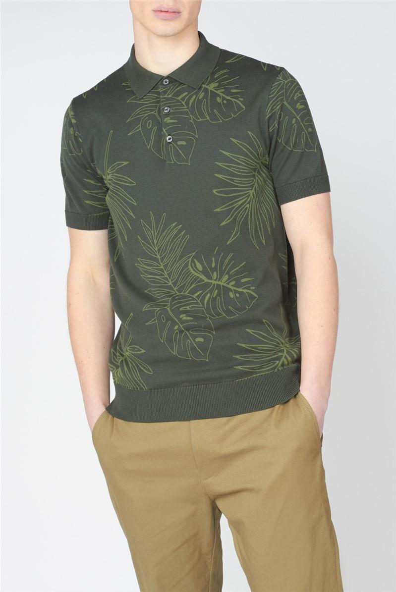 Floral Polo Shirt