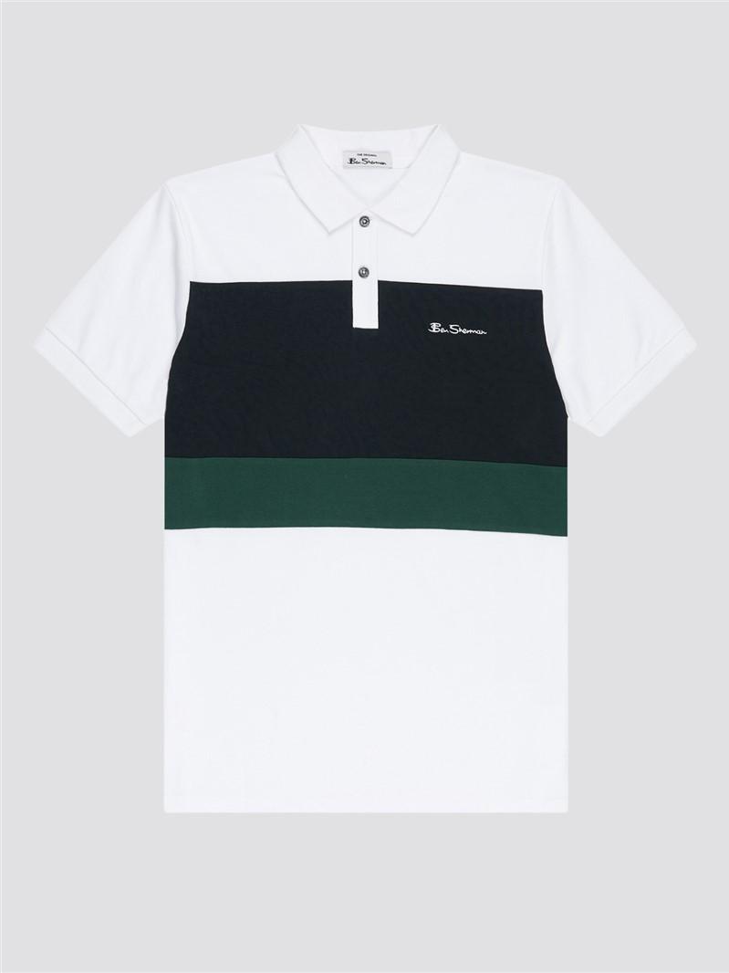Colour Block Polo