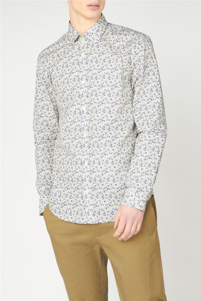 Multicolour Floral Print Shirt