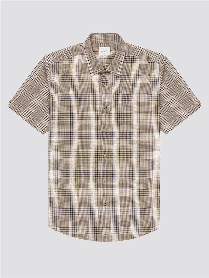 Seersucker Check Shirt